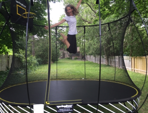 Are backyard trampolines safe? I hunted for information to answer this question.